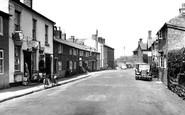 Bangor-Is-Coed, High Street c.1955