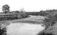 Bangor-Is-Coed, Old Iron Bridge c.1955