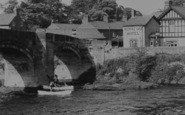 Bangor-Is-Coed, The Royal Oak Hotel c.1955