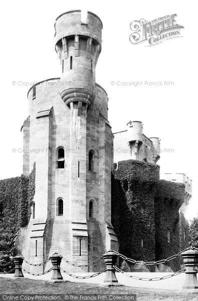 Bangor, Penrhyn Castle Entrance 1890