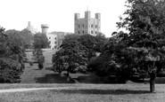 Bangor, Penrhyn Castle From The Park c.1883