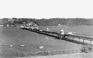 Bangor, The Pier c.1950