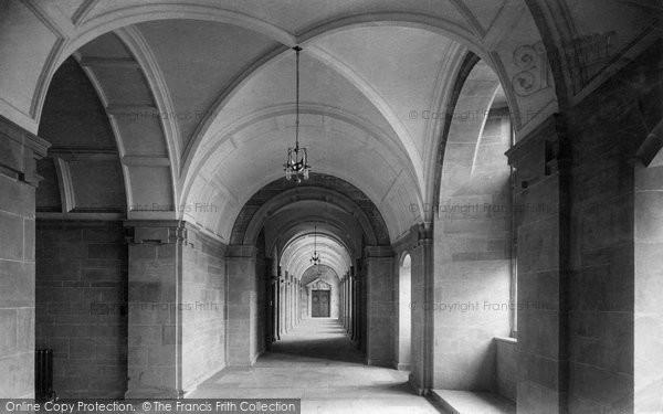 Bangor, University College, First Floor Corridor 1911