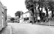 Banham, Post Office And Green c.1955