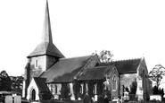 Banstead, All Saints Church 1890