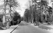 Banstead, Garratts Lane c.1955