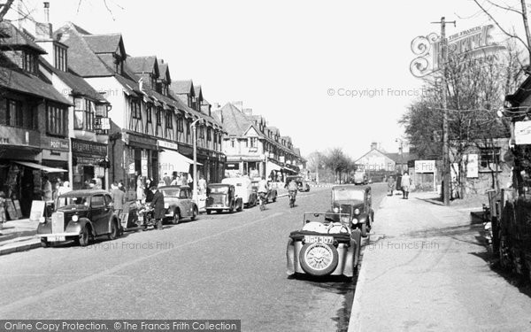 Banstead, High Street 1950