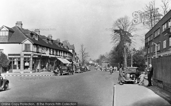 Banstead, High Street c.1955