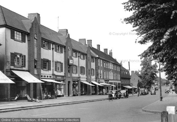 Banstead, High Street c.1955
