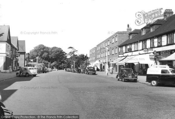 Banstead, High Street c.1960