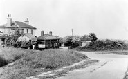 Banstead, The Station c.1955