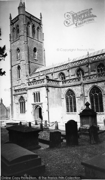 Banwell, The Church Of St Andrew And St Paul c.1960