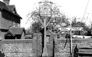 Barcombe, The Village Sign c.1955