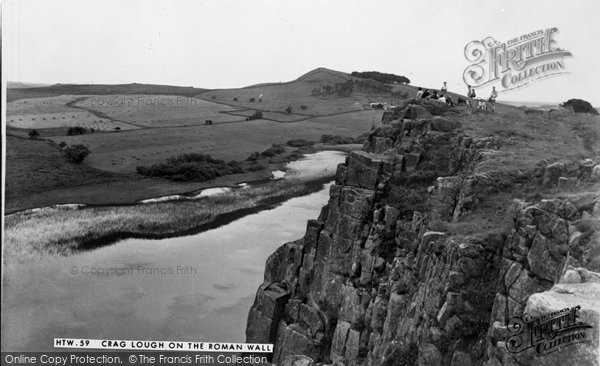 Bardon Mill, Crag Lough On The Roman Wall c.1960