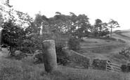 Bardon Mill, The Roman Milestone Near Vindolanda 1924