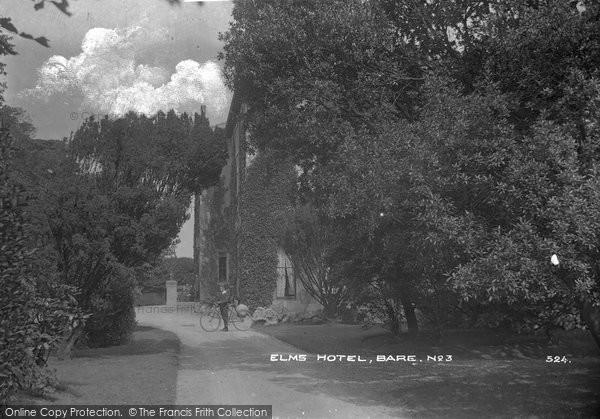 Bare, Elms Hotel c.1920