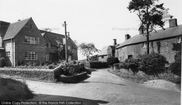 Barford St Michael, Rock Cottage And Turnstile House c.1960