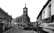 Bargoed, Clock Tower c.1955