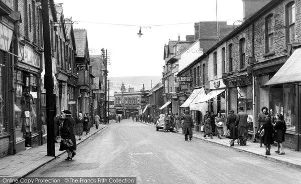 Bargoed, Hanbury Road 1952