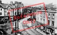 Bargoed, Hanbury Road And Trafalgar Square c.1955