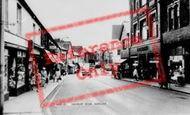 Bargoed, Hanbury Road  c.1960