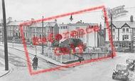 Bargoed, Hanbury Square c.1950