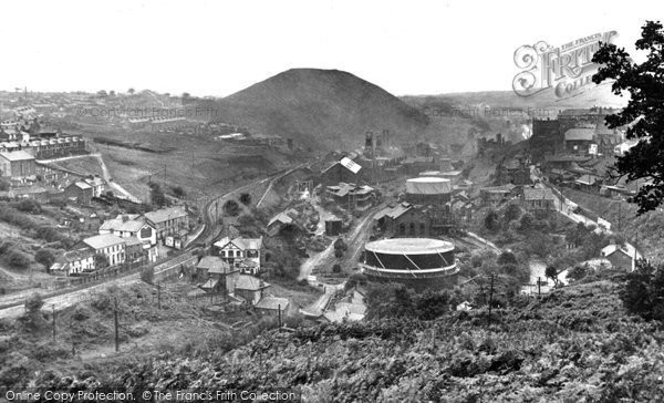 Bargoed, The Colliery c.1955