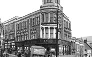 Bargoed, The Emporium c.1955