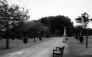 Bargoed, The Park c.1960