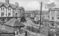Bargoed, The Square c.1955