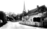 Barham, Village and St John the Baptist Church 1903