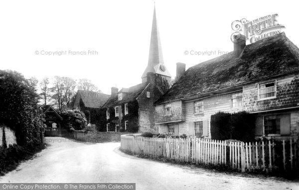 Photo of Barham, Village and St John the Baptist Church 1903