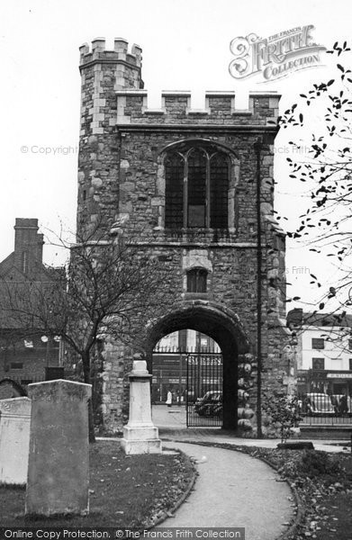 Photo of Barking, Curfew Tower C1955