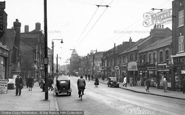 Barking, East Street 1950