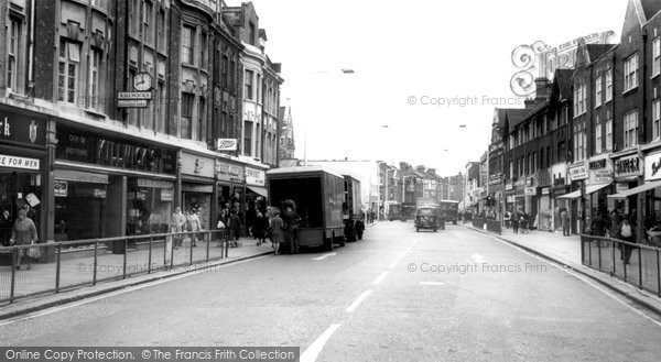 Photo of Barking, East Street c1965