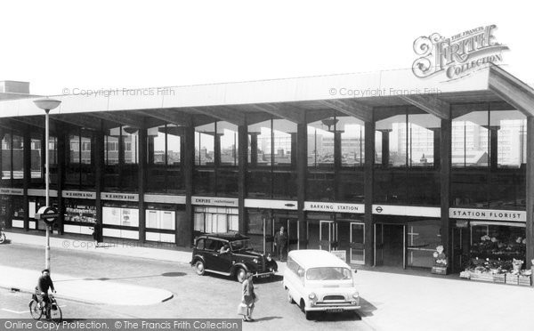 Barking, The Station c.1960