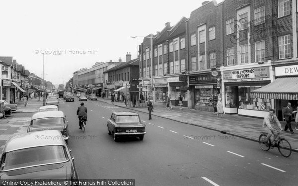 Photo of Barkingside, High Street c1965
