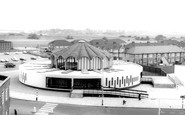 Barkingside, the Library and Swimming Pool c1965