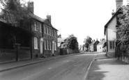 Barkway, Main Street c.1965