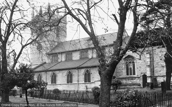 Barlborough, St James The Greater Church c.1955