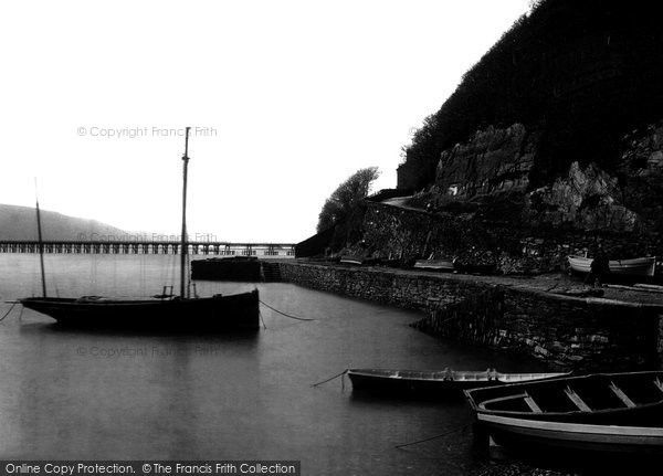 Barmouth, Aberhamffra Harbour  1889