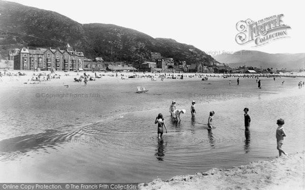 Barmouth, Beach 1933