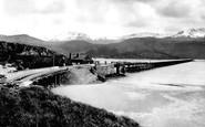 Barmouth, Bridge And Cader Idris 1889