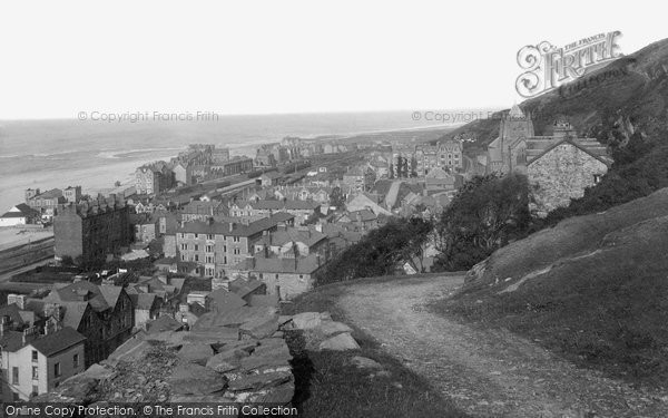 Barmouth, From Dinas Oleu Hill 1913