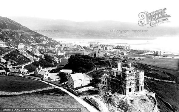 Barmouth, From The Hills 1892