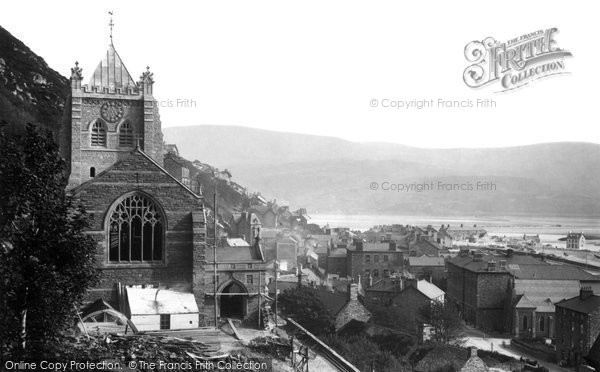 Barmouth, New Church 1894