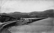 Barmouth, Railway Bridge c.1876