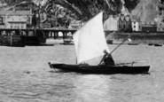 Barmouth, Sailing Down Afon Mawddach 1892