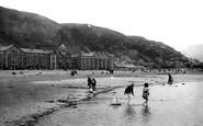 Barmouth, The Beach 1895