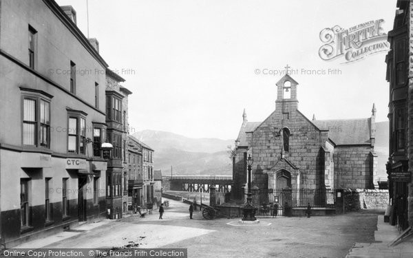 Barmouth, The Church 1889